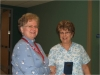 jeannine-mcdonald-presented-with-a-recognition-pin-for-15-yrs-of-service-at-hotel-dieu-housekeeping